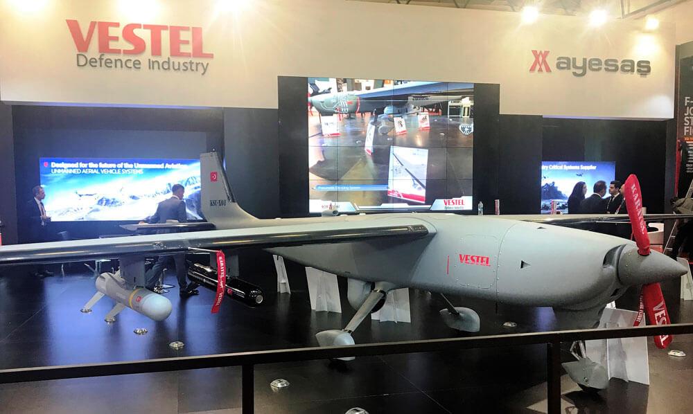 """Vestel'den yeni """"yerli"""" insansız hava aracı KARAYEL-SU!"""