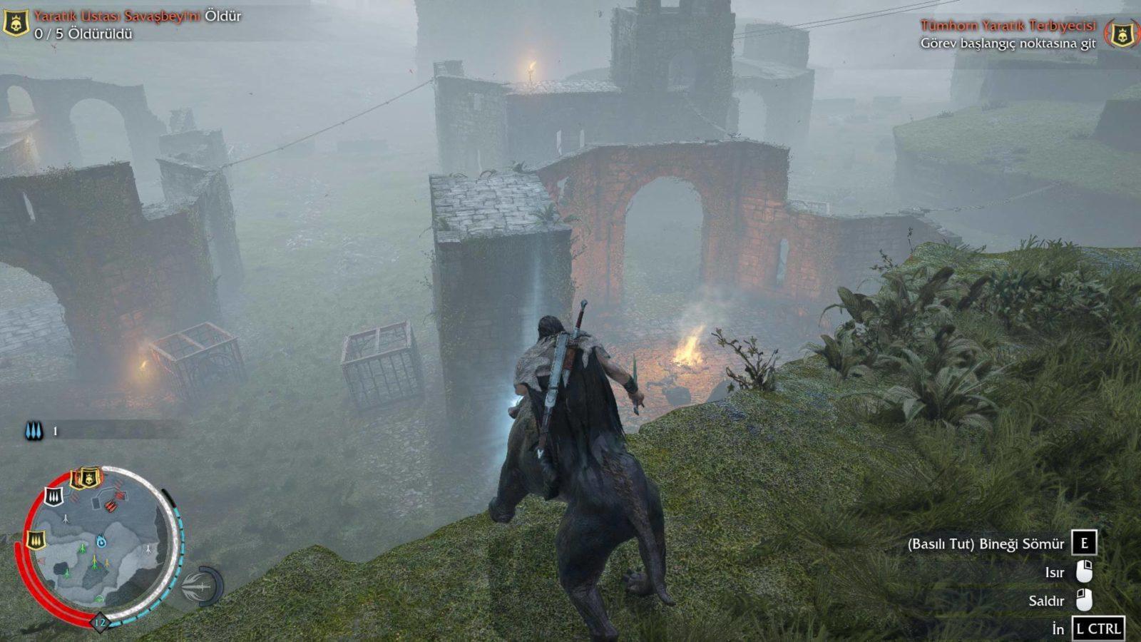 Middle-Earth Shadow of Mordor Türkçe yaması çıktı!
