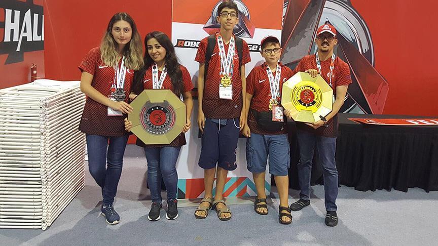 Türk gençlerimiz dünya şampiyonu oldu! 1
