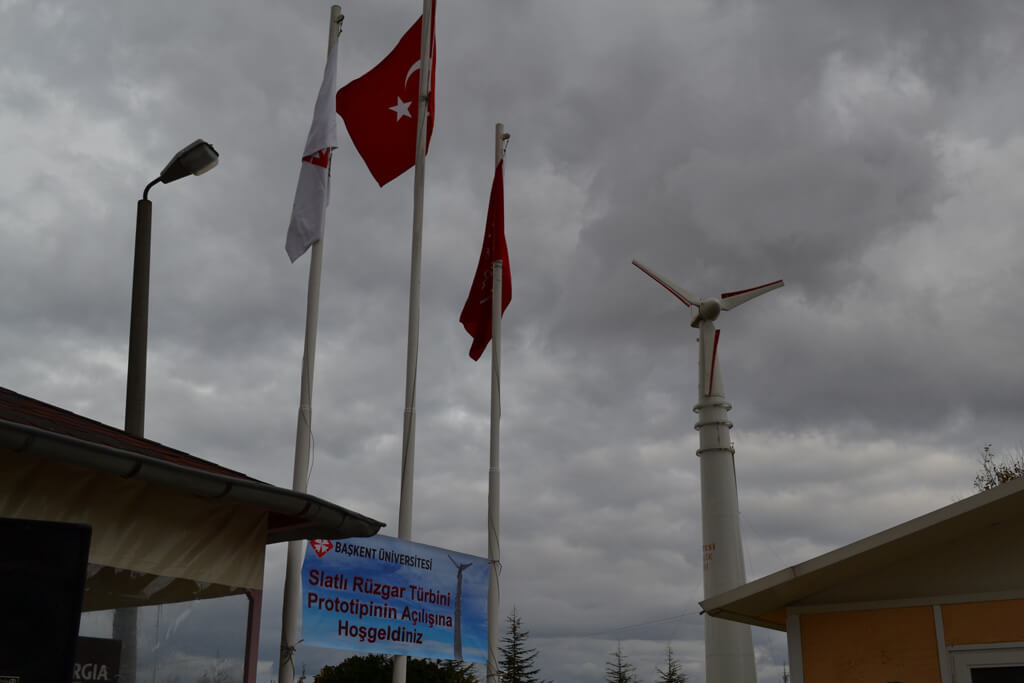Yerli üretim rüzgar türbini yapıldı!