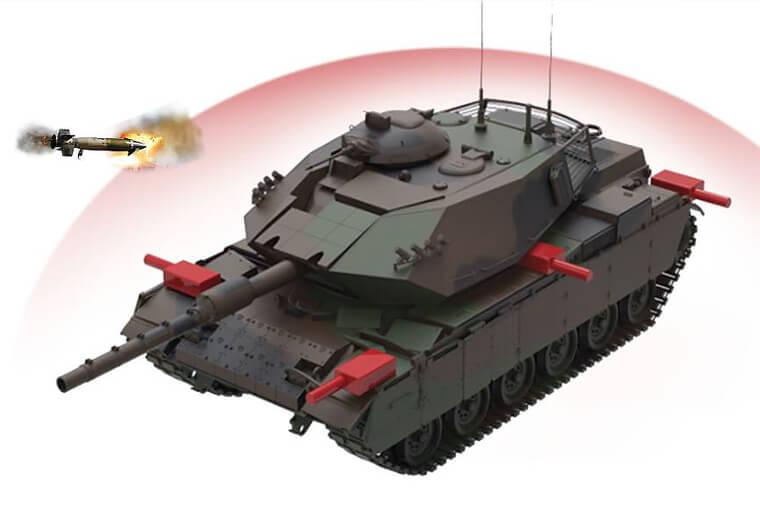 Tank ve araç koruma sistemi Akkor Pulat çok yakında Afrin'de! 1
