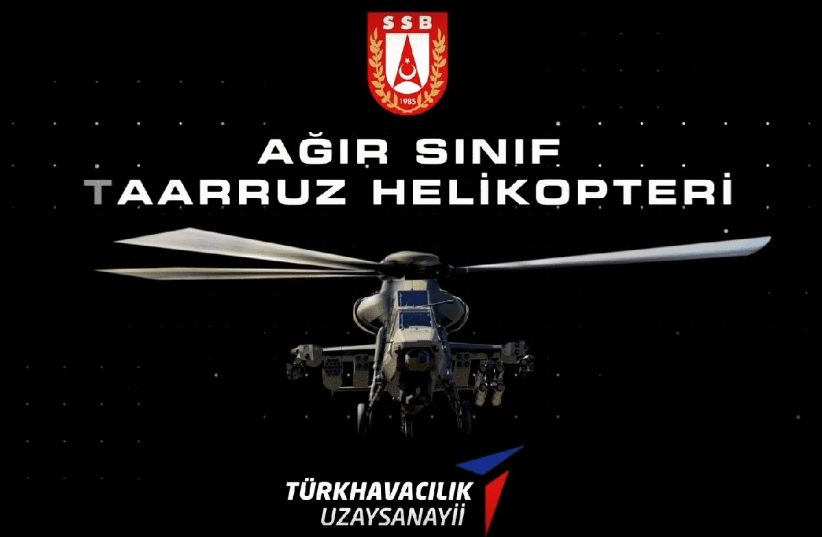 """Ağır Saldırı Helikopteri """"ATAK 2"""" geliyor! İşte görünümü"""