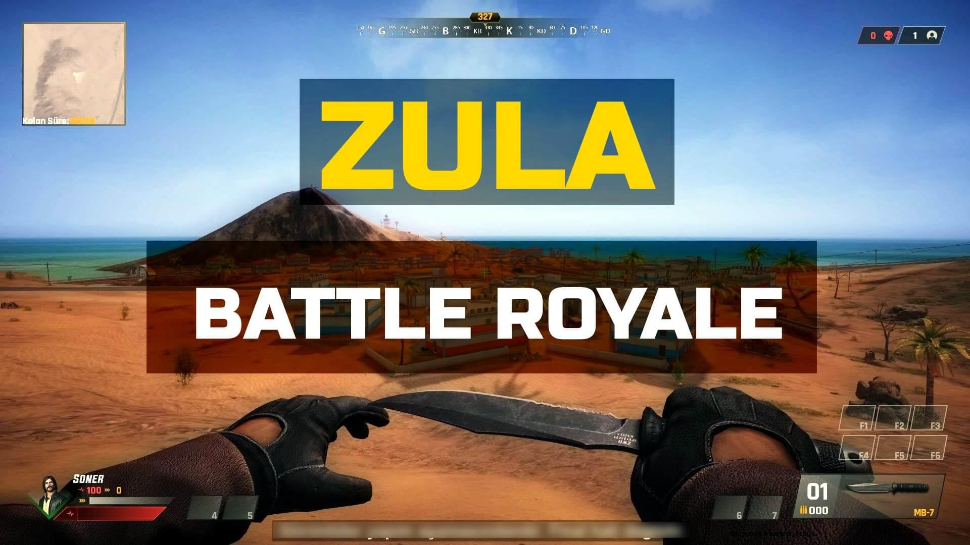 PUBG'ye Yerli Rakip Oyun: Zula Battle Royale!
