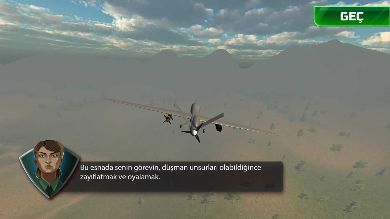 Yerli İHA ANKA'nın Mobil Oyunu Operasyon: ANKA yayınlandı! İndirin